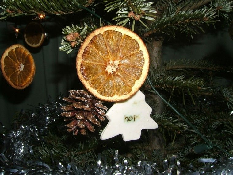 naranja seca decorar Navidad